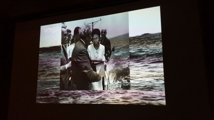 The last room - Callas's ashes scattered on the Aegean Sea
