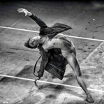 Vincenzo dancing his contemporary variation at the Beijing International Ballet Competition 2014