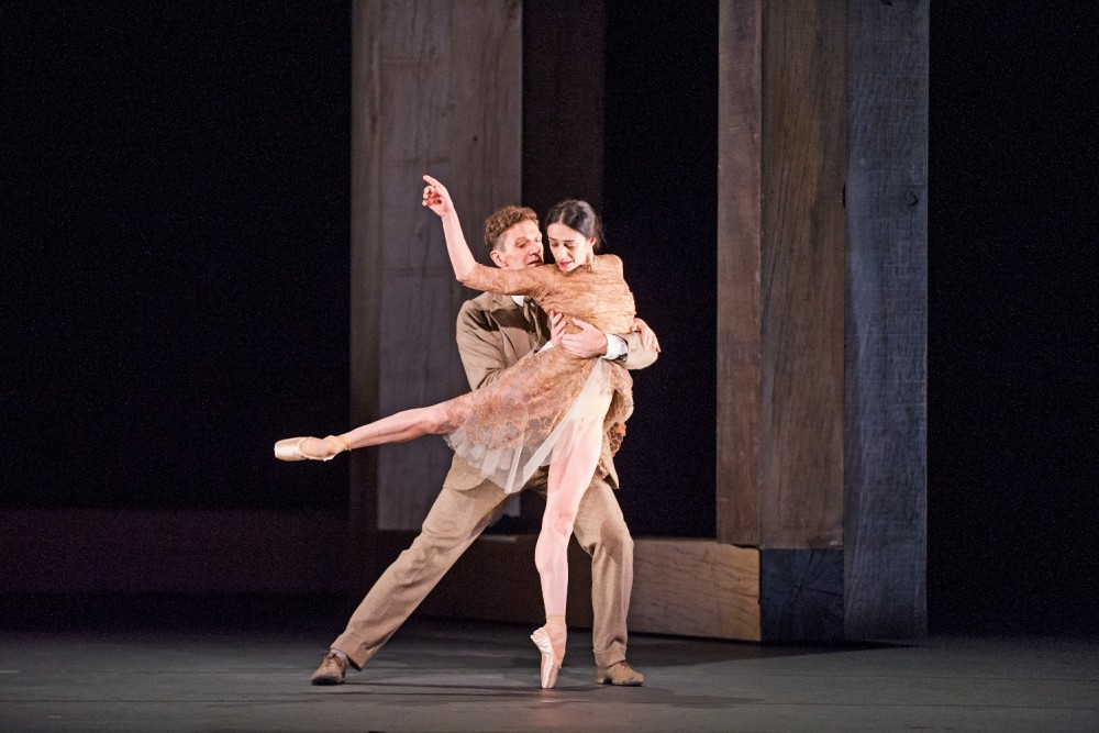 Woolf Works - Alessandra Ferri and Gary Avis - ©ROH, 2015 Photographed by Tristam Kenton