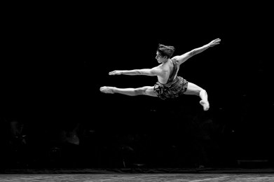 Cesar Corrales in the Diana & Acteon pas de deux - photo by Dasa Wharton