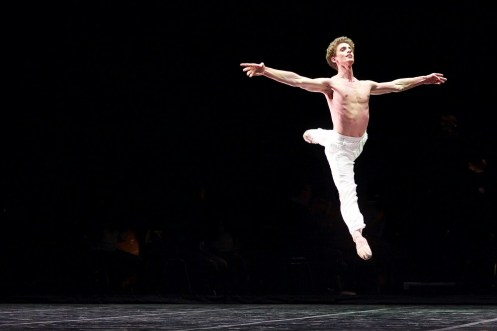 Daniele Silingardi in John Neumeier's Spring and Fall - photo by Dasa Wharton,