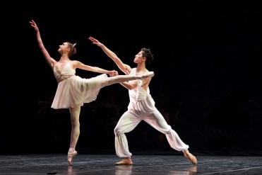 Isabelle Brouwers and Erik Woolhouse, Talisman pas de deux - photo by Dasa Wharton