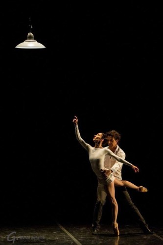 Mara Galeazzi and Gary Avis in Tim Podesta's 'From the Shade' in Milan