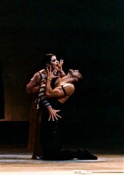 Paul Chalmer with Carla Fracci in Fedra – Teatro Massimo, Palermo