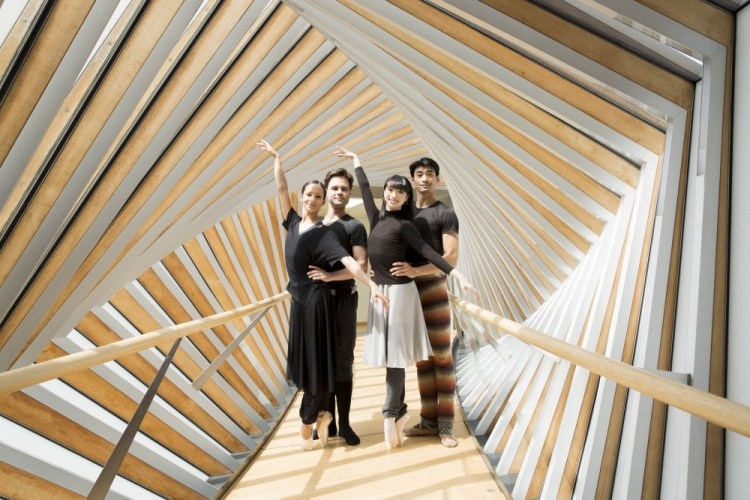 Francesca Hayward, Alexander Campbell, Akane Takada, Ryoichi Hirano ©ROH, 2016. Photographed by Andrej Uspenski