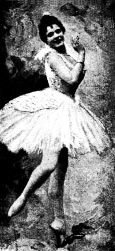Piera Legnani, the 1895 Odette