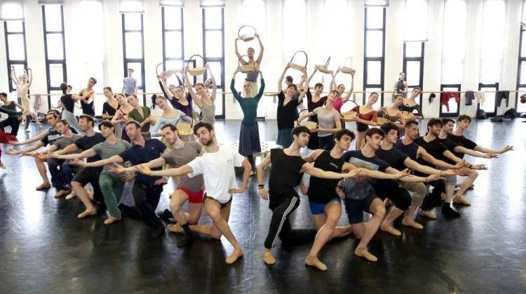 Swan Lake rehearsal – photo by Brescia and Amisano Teatro alla Scala