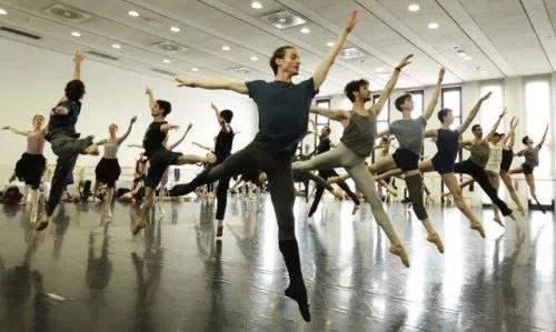 Swan Lake rehearsal - photo by Brescia and Amisano Teatro alla Scala