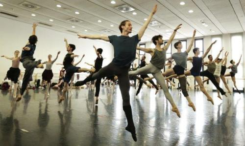 Swan Lake rehearsal - photo by Brescia and Amisano Teatro alla Scala