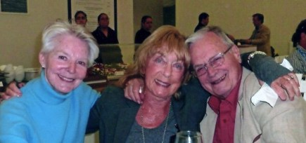 Dame Antoinette Sibley, Dame Gillian Lynne and Sir Peter Wright