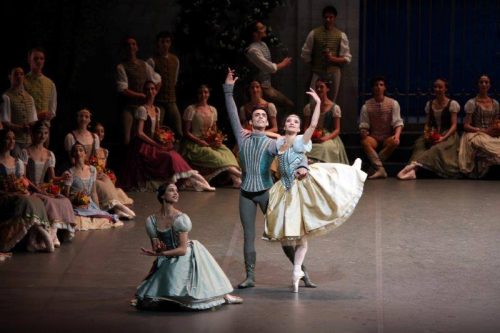 Pas de trois with Agnese Di Clemente, Daniela Cavalleri and Walter Madau – photo by Brescia and Amisano Teatro alla Scala