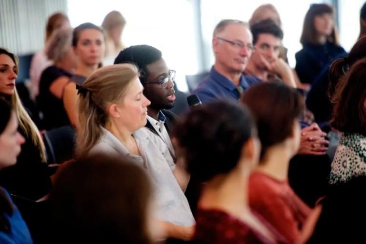 The audience, Dance Umbrella - Big Dance debate - photo by Tom Simpson