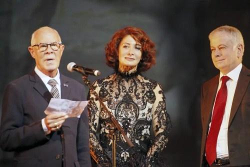 Hans van Manen, Irma Nioradze and Alfio Agostini