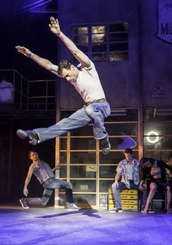 Jonathan Ollivier as Luca in Matthew Bourne's The Car Man - photo by Johan Persson
