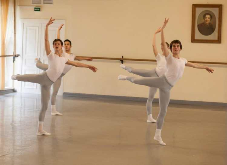 Vaganova students