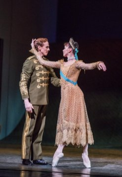 Anastasia. Edward Watson as Officer and Natalia Osipova as Anastasia. © ROH, 2016 Photographed by Tristram Kenton (2)