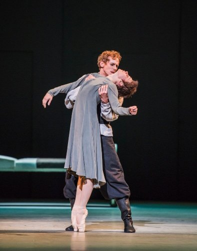Anastasia. Natalia Osipova as Anna Anderson and Edward Watson as Her Husband. © ROH, 2016 Photographed by Tristram Kenton