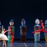 Ashley Bouder as Clara and Rezart Stafa as the Nutcracker photo by Yasuko Kageyama, Opera di Roma 2014