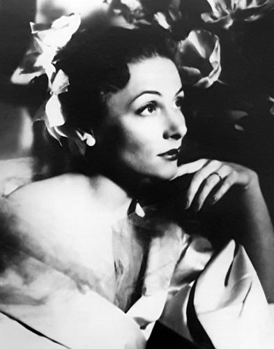 Yvette Chauviré in 1952 with the Ballet Russe de Monte Carlo in New York