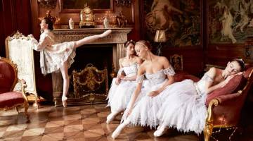 Lauren Cuthbertson and other Royal Ballet dancers grace the pages of Town and Country – sneak peek!