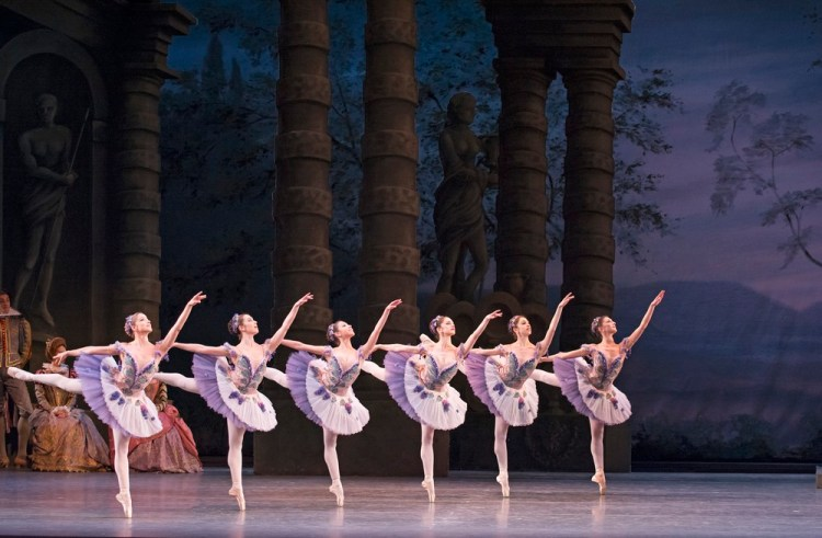 The Sleeping Beauty. Artists of The Royal Ballet in The Sleeping Beauty. cROH Tristram Kenton, 2014