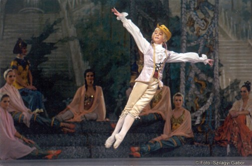 István Simon at Hungarian National Opera's The Nutcracker, by Vasilij Vajnonen photo by Gábor Szilágyi