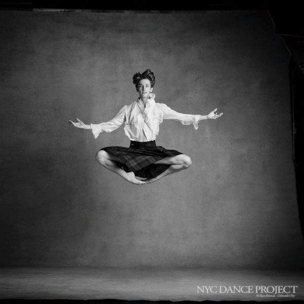 Julian MacKay as photohraphed by NYC Dance Project