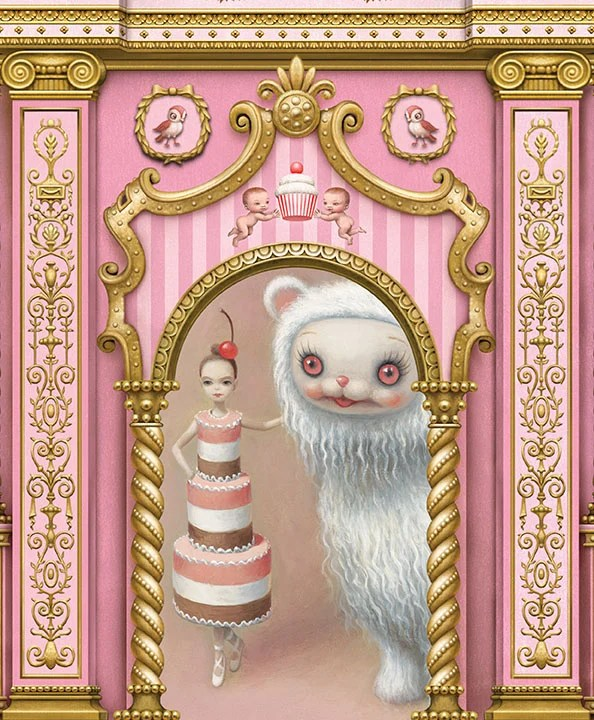 Whipped Cream sketches by Mark Ryden
