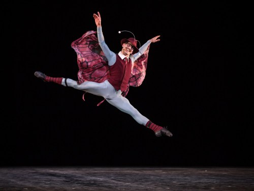 Alessio Rezza in The Concert by Jerome Robbins, photo by Yasuko Kageyama, Teatro dell'Opera, Rome