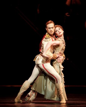 Mayerling. Edward Watson as Crown Prince Rudolf and Sarah Lamb as Marie Larisch. c ROH, 2017. Photographed by Alice Pennefather. (4)