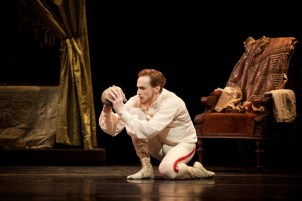 Mayerling. Edward Watson as Crown Prince Rudolf c ROH, 2017. Photographed by Alice Pennefather.