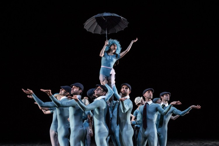 Susanna Salvi and company in The Concert by Jerome Robbins, photo by Yasuko Kageyama, Teatro dell'Opera, Rome