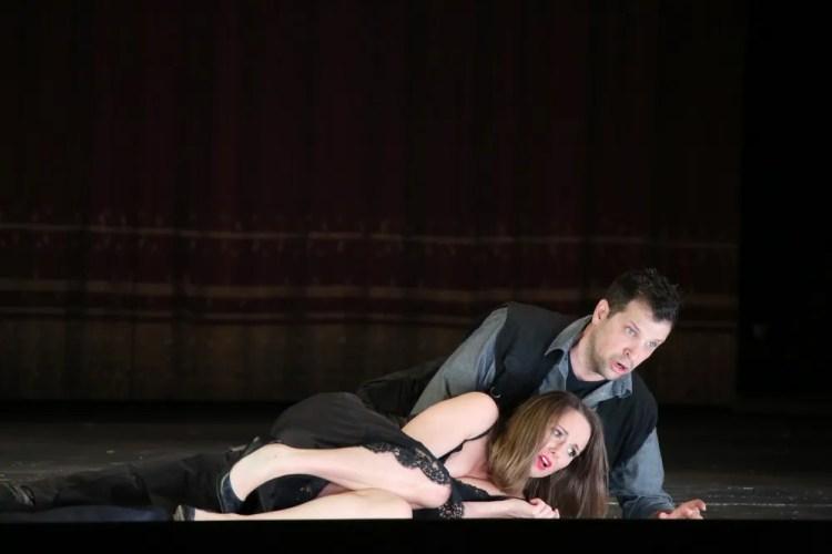 Don Giovanni Anett Fritsch and Luca Pisaroni, photo by Brescia Amisano – Teatro alla Scala