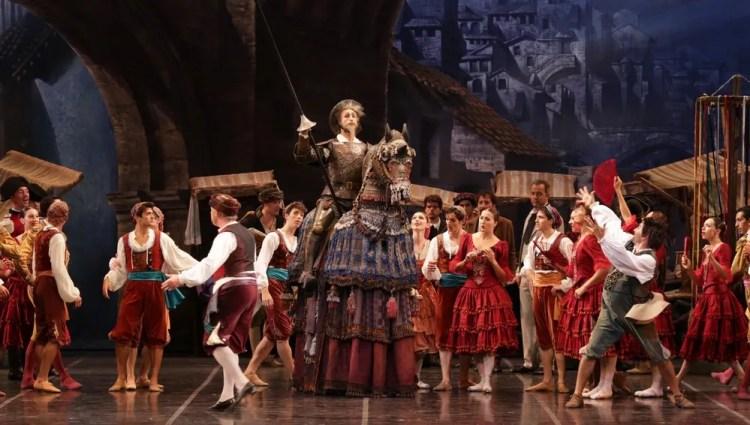 Don Quixote, photo by Brescia e Amisano, Teatro alla Scala