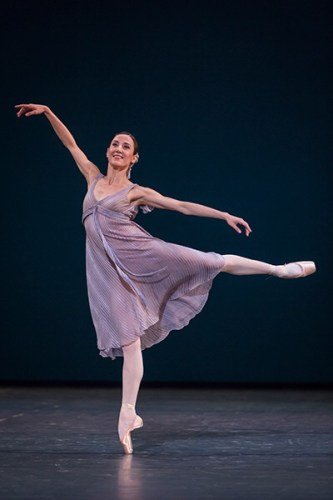Ludmila Pagliero in Other Dances, photo by Sébastien Mathé