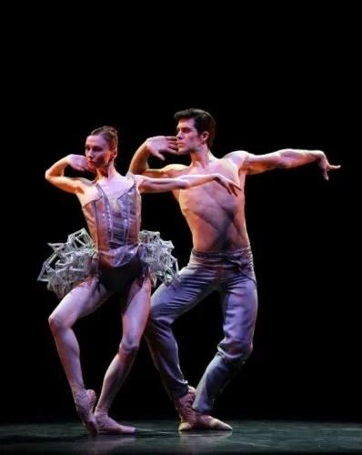 Progetto Haendel Svetlana Zakharova and Roberto Bolle photo Brescia e Amisano, Teatro alla Scala, 2017