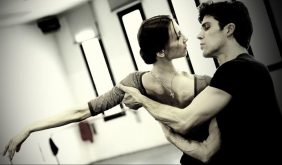 Progetto Handel Svetlana Zakharova and Roberto Bolle in rehearsal photo by Brescia and Amisano, Teatro alla Scala 4