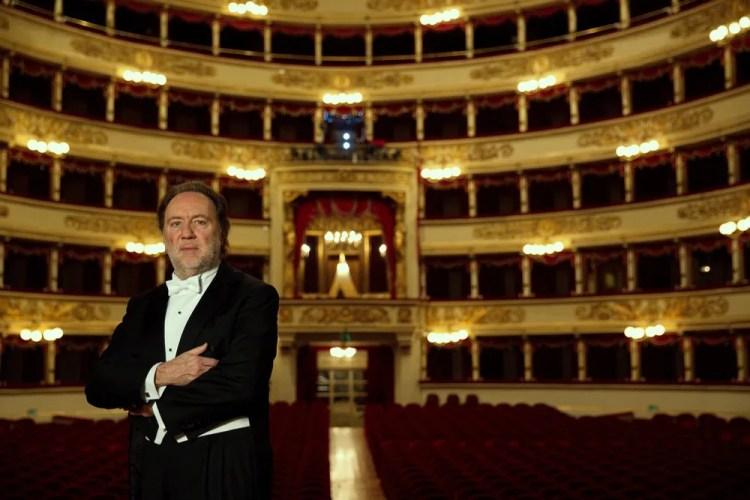 Riccardo Chailly, photo by Brescia e Amisano, 2017