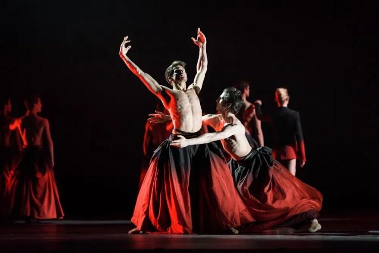 Symphonic Dances, Nicol Edmonds, Tristan Dyer cROH2017 photograph by Bill Cooper