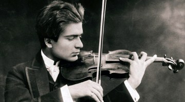 Founder of the Israel Philharmonic Orchestra, violinist Bronislaw Huberman, died 70 years ago today
