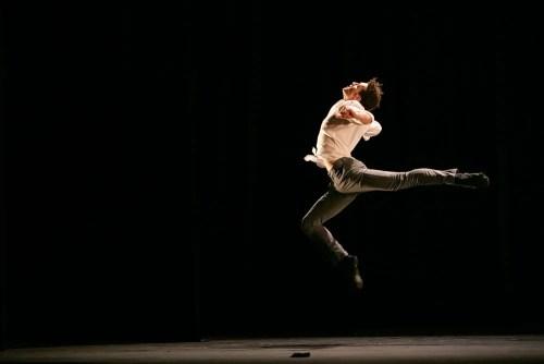 Emilio Pavan dances Proprioception by Kirill BurloMane © Dasa Wharton