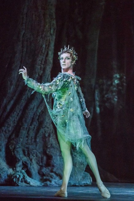 The Dream. Steven McRae as Oberon. ©ROH, 2017. Photographed by Tristram Kenton