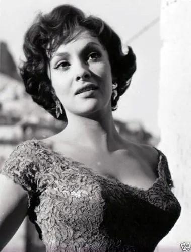 Gina Lollobrigida in the 1960s, photo by Ivo Bulanda