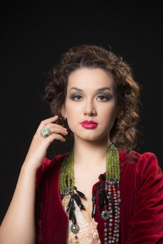 Maria Mudryak as Violetta in Ferzan Ozpetek's productions for San Carlo di Napoli, photo by Luciano Romano 1