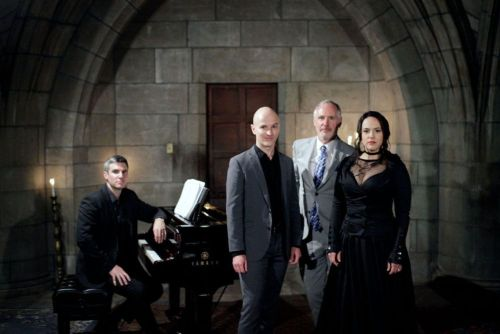 Elizabeth Cree The Crypt Sessions, from left, Kevin Puts, Joseph Gaines, Mark Campbell and Daniela Mack