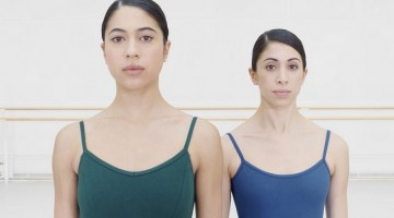 A female pas de deux from Royal Ballet dancers Beatriz Stix Brunell and Yasmine Naghdi