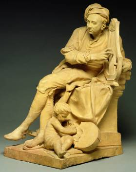 George Frideric Handel, terracota, Louis Francois Roubiliac, 18th century, England © The Fitzwilliam Museum, University of Cambridge
