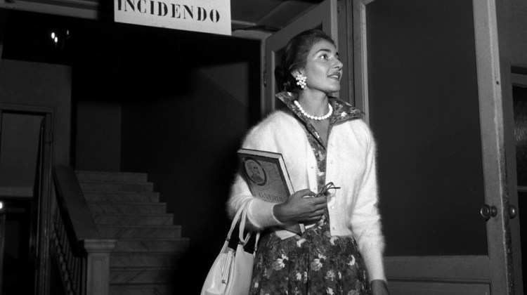 Maria Callas in newly restored photos from the La Scala archive