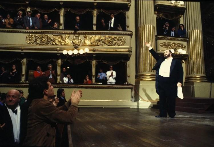 Recital in 1983