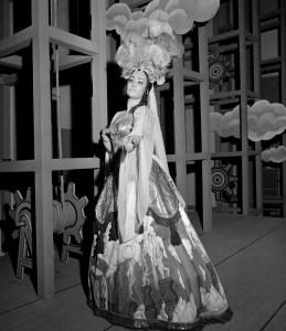 Il ritorno di Ulisse in patria, 1964, Irene Companeez, costume by Piero Zuffi, photo by Piccagliani